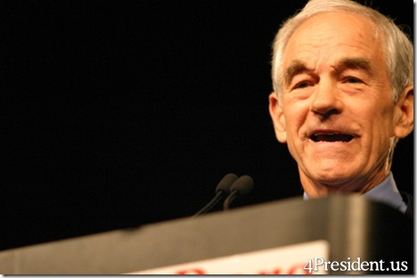 Ron Paul Iowa Reagan Day Dinner Photo