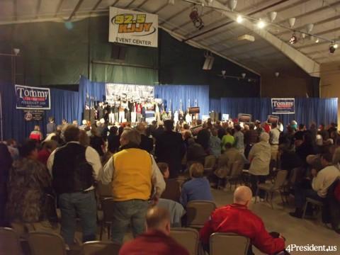 Tommy Thompson 2008 Announcement Clive Iowa April 4 2007