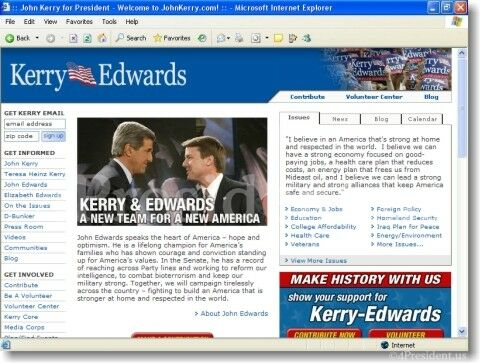 John Kerry 2004 Campaign